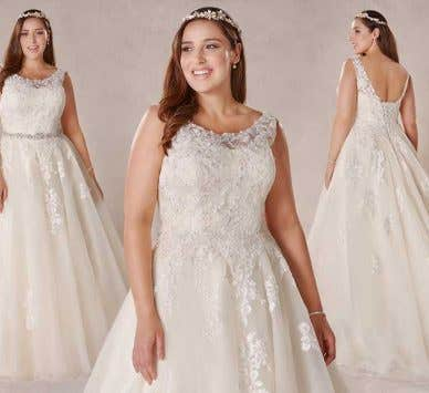 Spotlight on… Melrose, our new plus size wedding dress by Bellami