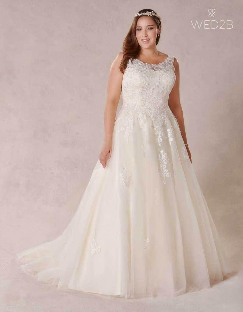 Plus size wedding dress Melrose