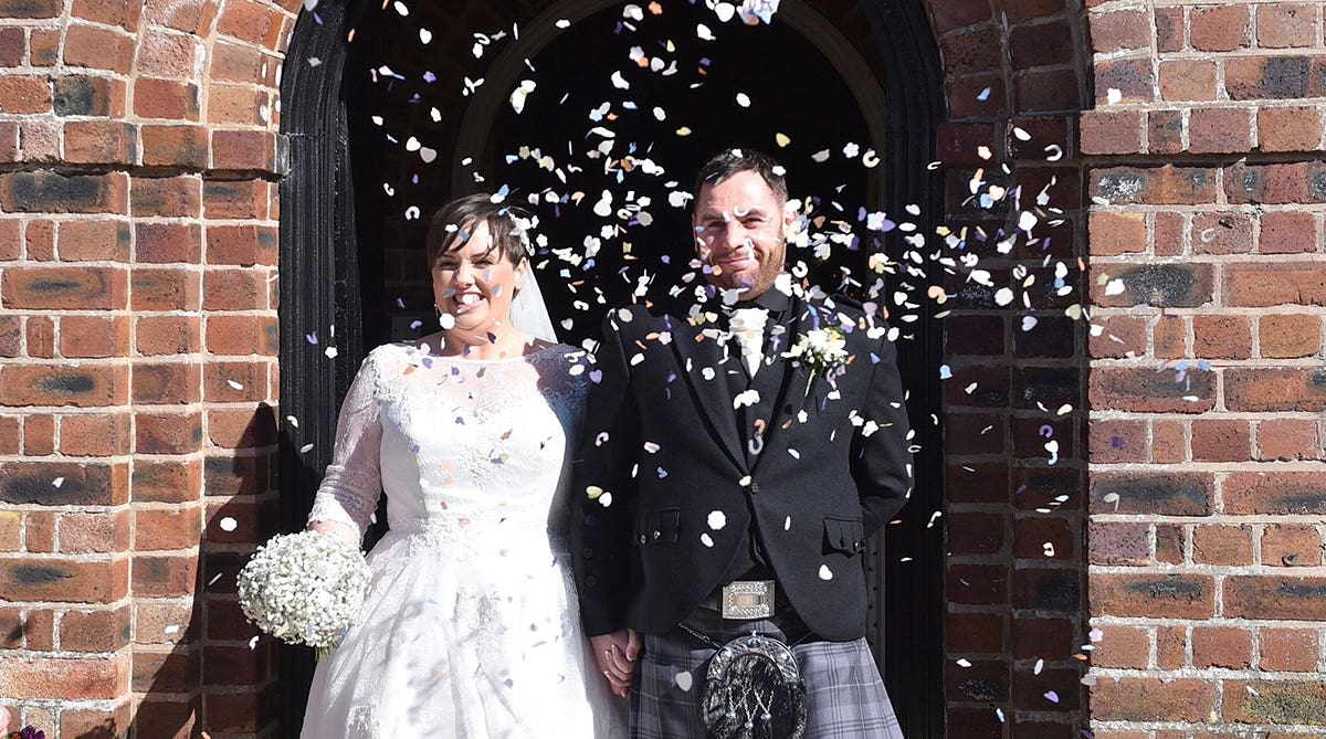Real Weddings Liverpool: Ronny and Martyn's dream day just for two