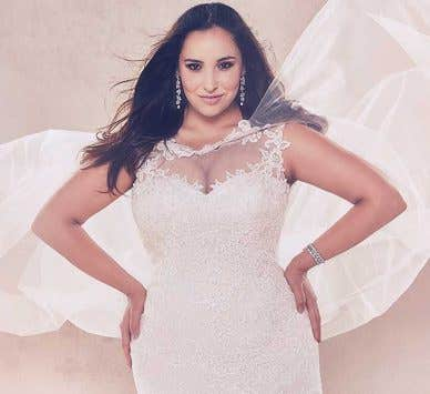 Discover our amazing new plus size wedding dress