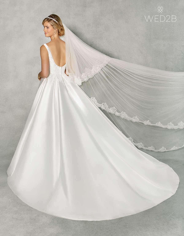 Revealed… our amazing new Grace Kelly wedding dress   WED2B-UK-BLOG