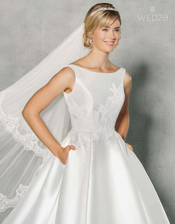 Revealed… our amazing new Grace Kelly wedding dress | WED2B-UK-BLOG