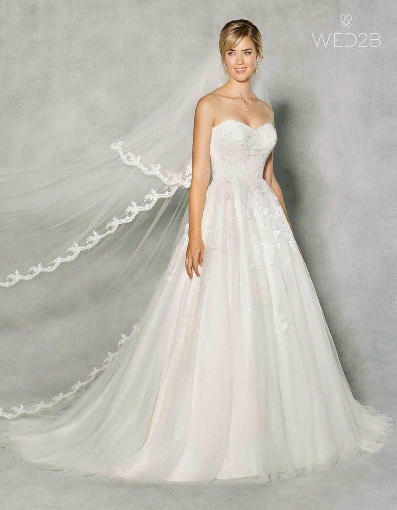 sweetheart neckline wedding dresses - Penny