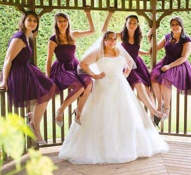 Real Weddings Milton Keynes: Laura and James' fabulous wedding day