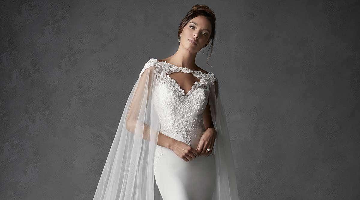 Wonderful Crepe Wedding Dresses