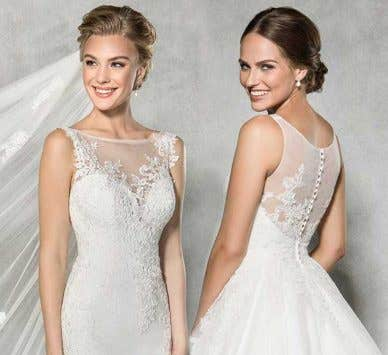 Our essential guide to boat neck wedding dresses
