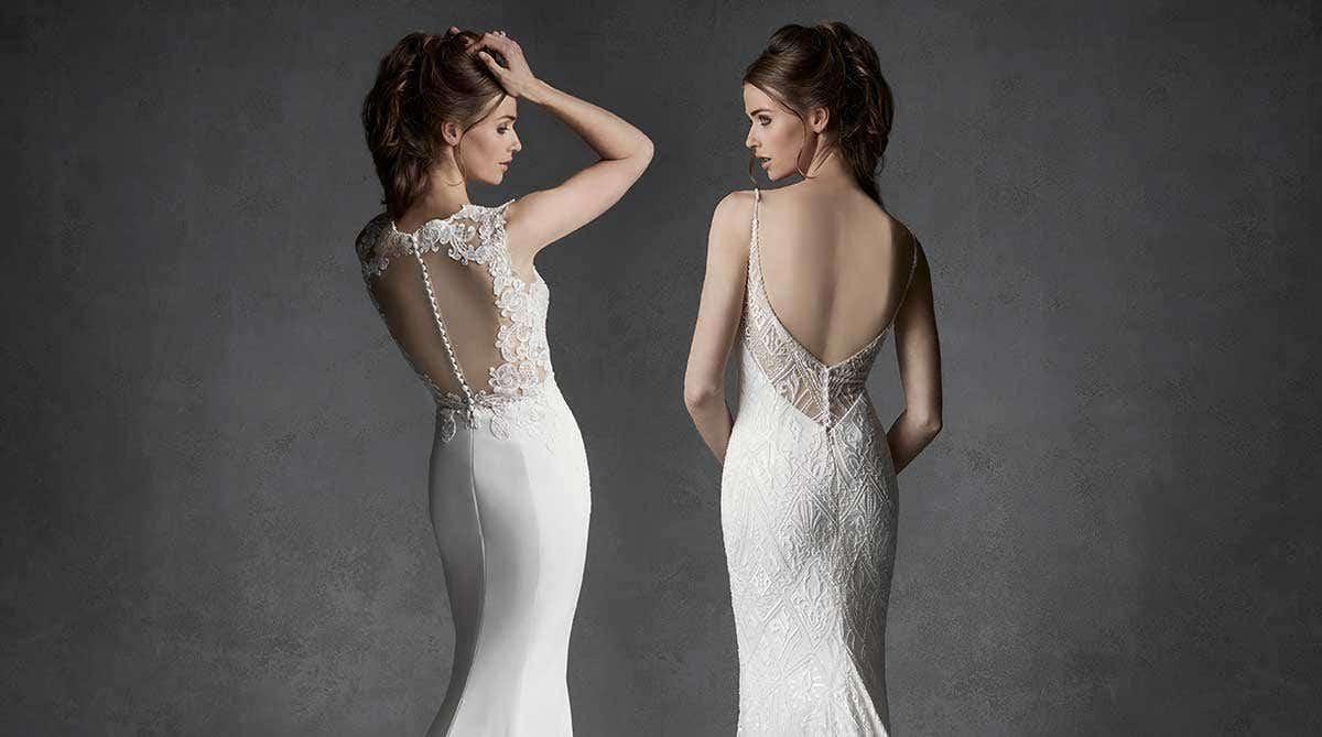 Beautiful beaded wedding dresses