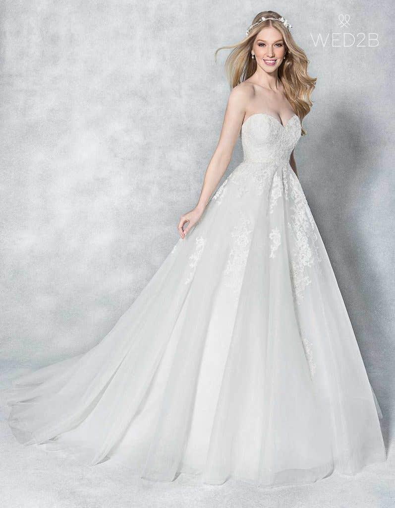 Elegant Ivory Wedding Dresses Wed2b Uk Blog