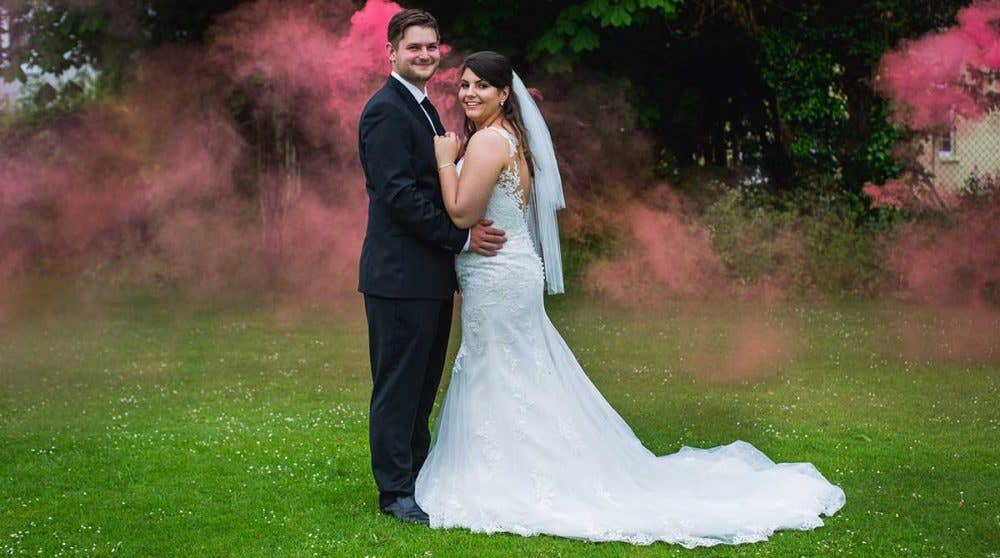 Real Weddings Milton Keynes: Bea and Michael's homemade wedding