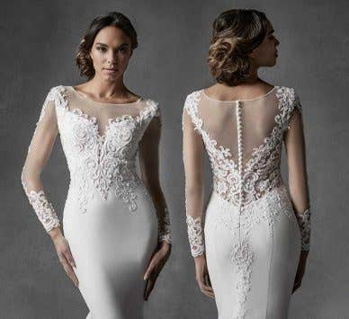 Breathtaking modern wedding dresses