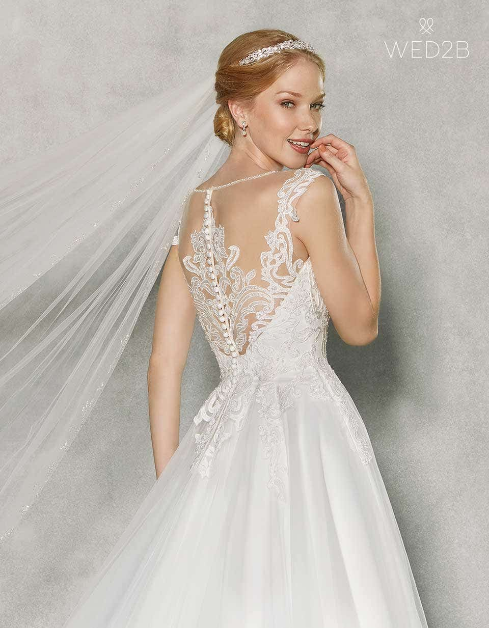 Caitlyn - Embroidered Wedding dresses