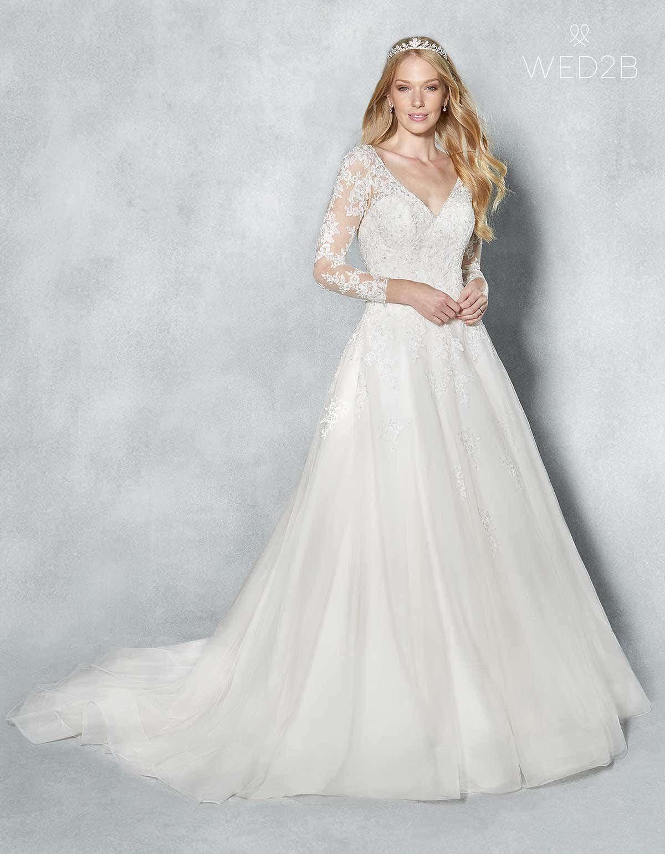 Tulle wedding dress - Eliana