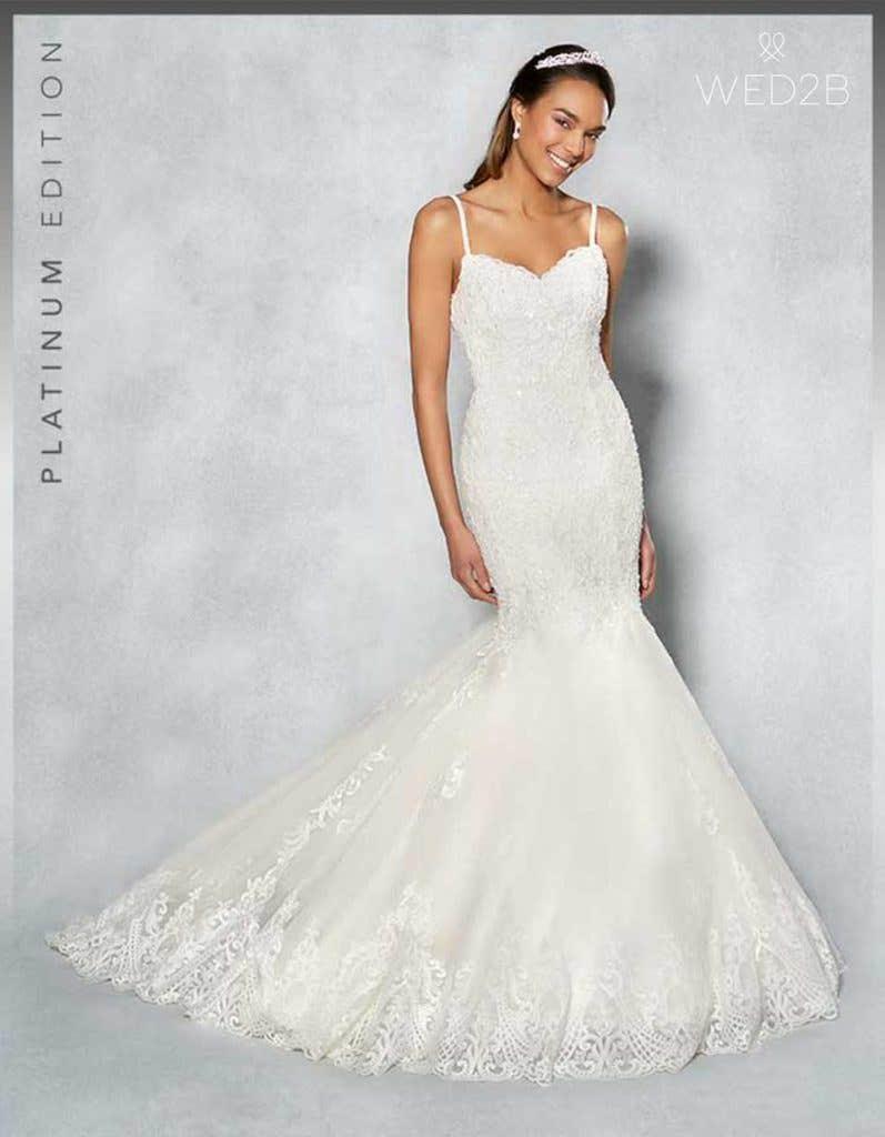 New Season Trend Embroidered Wedding Dresses Wed2b Uk Blog