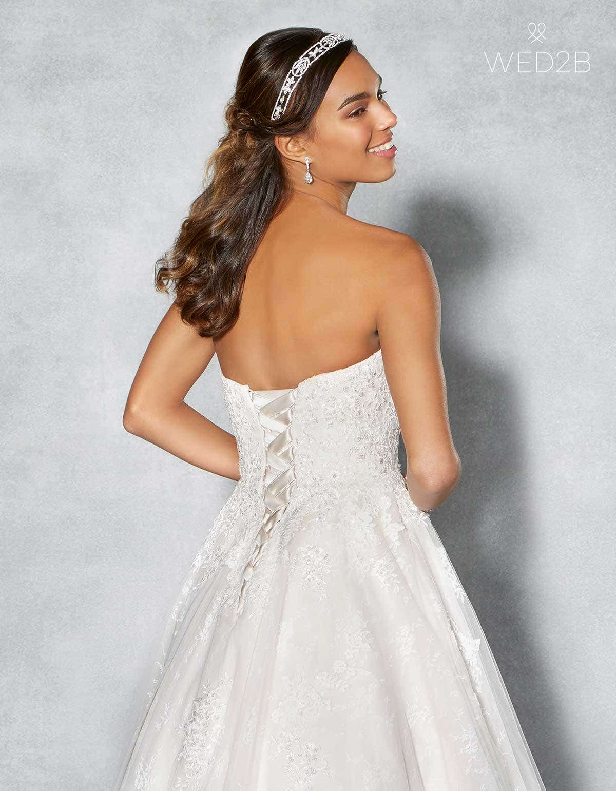 Lace-up wedding dresses - Tamsin