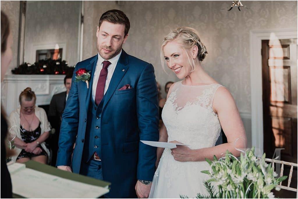 Real Weddings: Ally & Damon's Winter Wedding In London