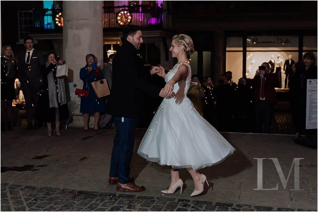 Real Weddings: Ally & Damon's Winter Wedding In London