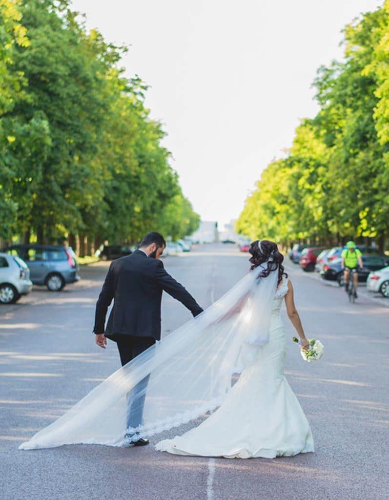 real weddings in London Daroon