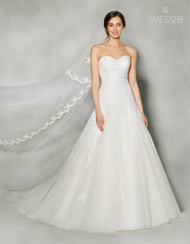 Three breathtaking strapless wedding dresses | WED2B-UK-BLOG