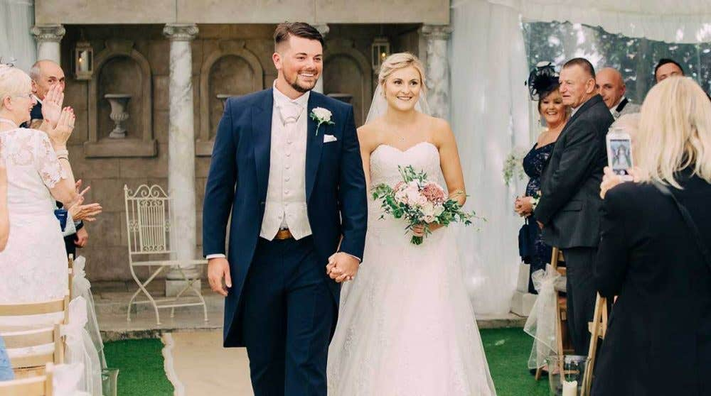 Real Weddings Southampton: Shannon and Clark's unforgettable wedding day
