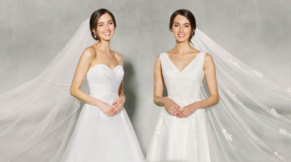 Brand new bridal dresses - in store now!