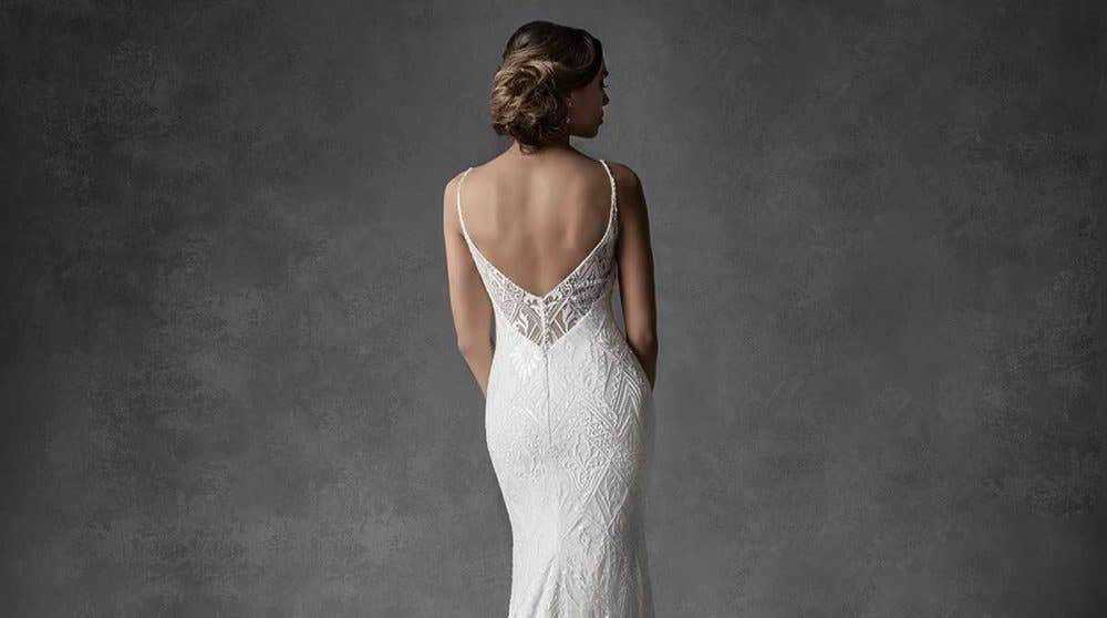 Dreamy embellished wedding dresses