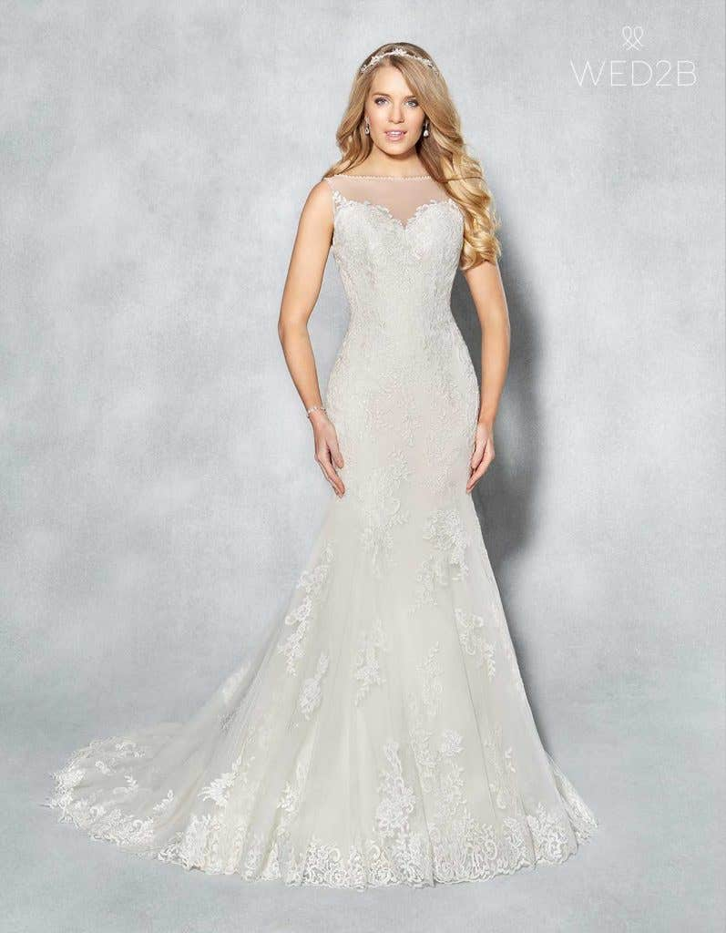 Sleeveless wedding dresses with wow factor! - Bobbi