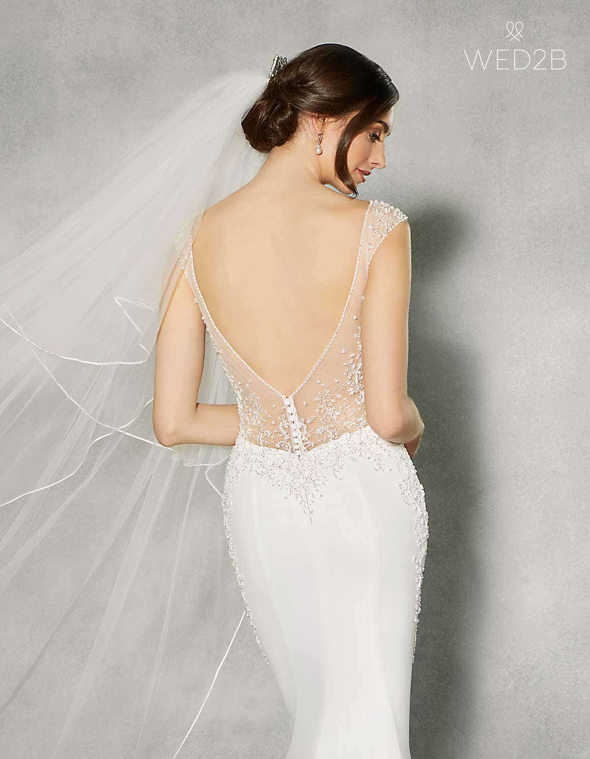 bdf8eb3c659 The essential guide to low back wedding dresses | WED2B UK BLOG