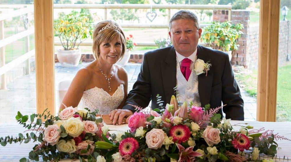 Real Weddings Worcestershire: Anthony and Jackie's beautiful big day
