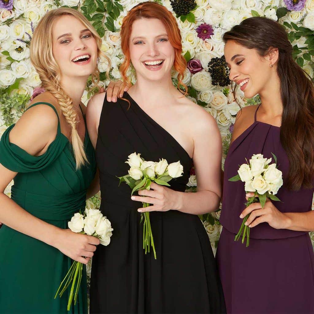 new bridesmaids dresses - Haven, Eden and Bella