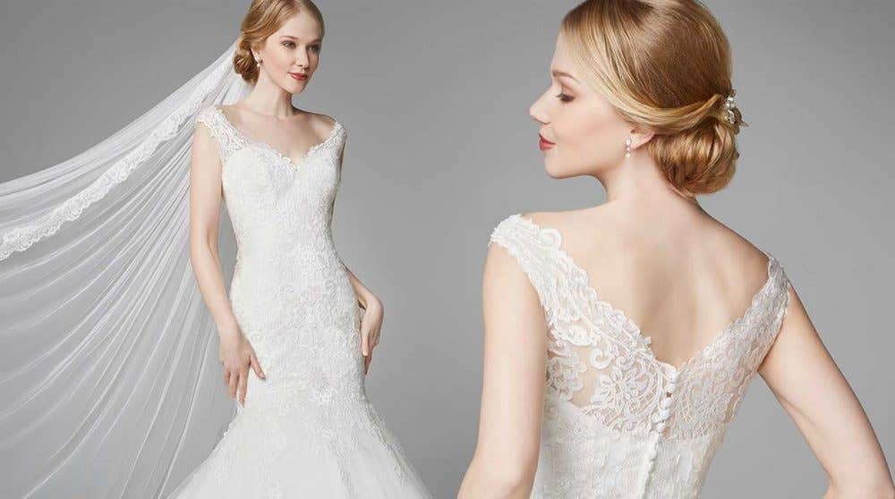 Brand new lace wedding gowns from Anna Sorrano