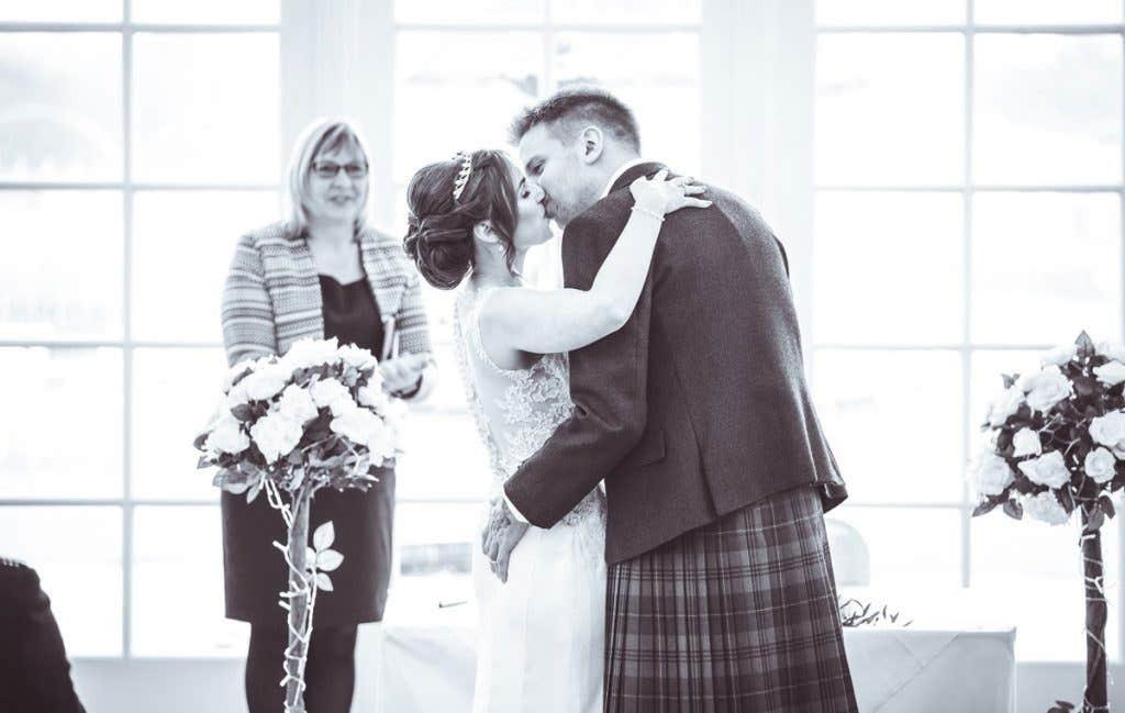 Real Weddings Scotland: Nikki And Richard's Rainy But