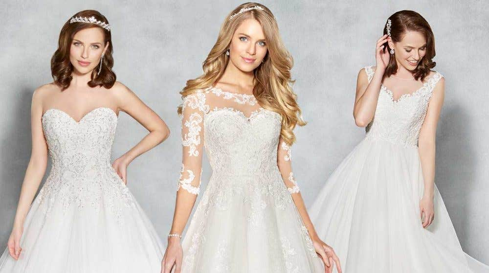 Three dazzling Viva Bride designs
