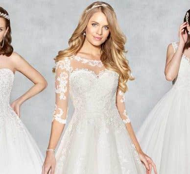 Three dazzling Viva Bride designs
