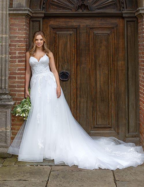Roma a classic wedding dress by Viva Bride