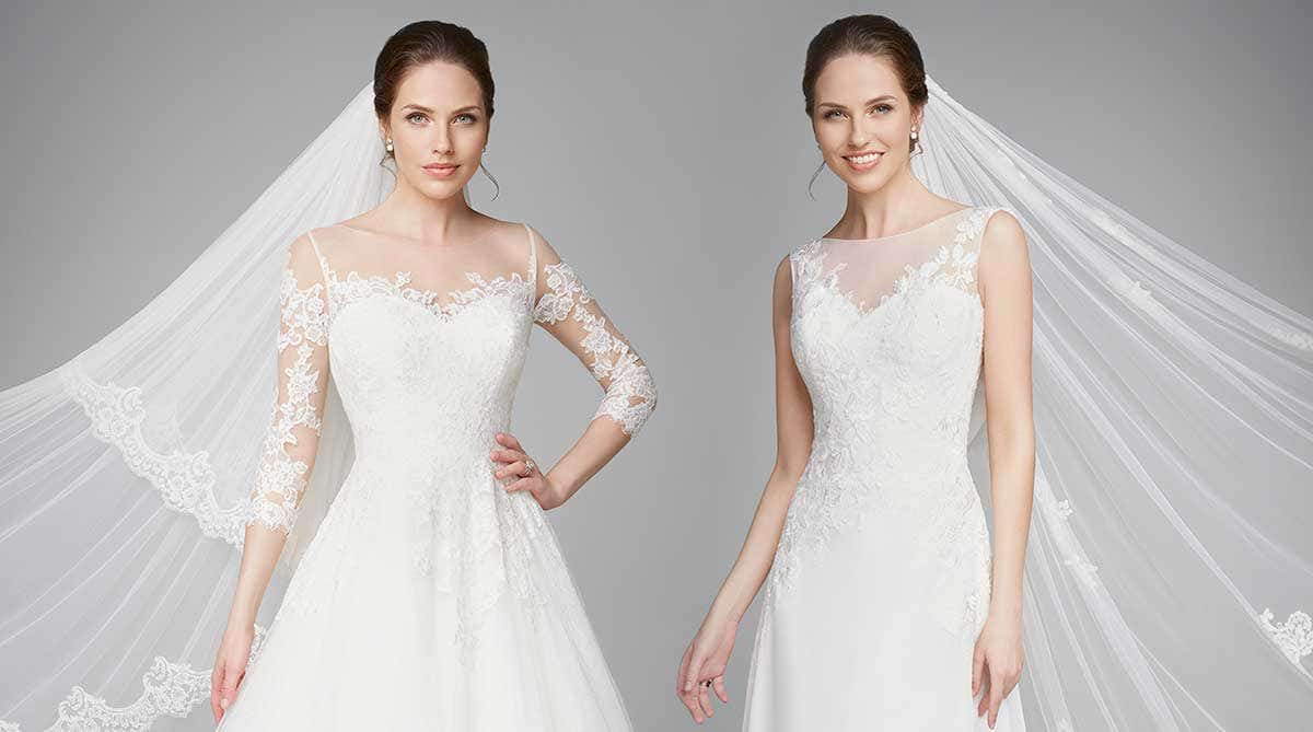 Truly timeless wedding dresses…