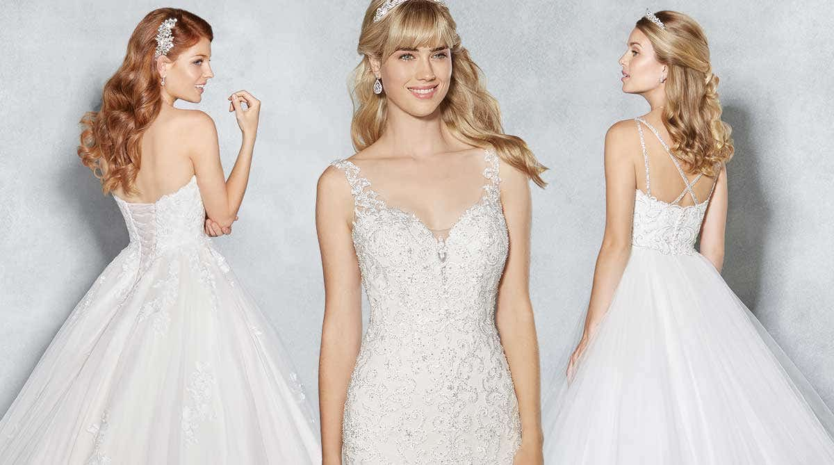 Magical modern wedding dresses from Viva Bride