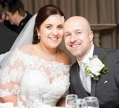 Real Weddings Nottingham: Nic and Dave's wonderful winter wedding
