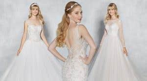 Show-stopping modern wedding dresses