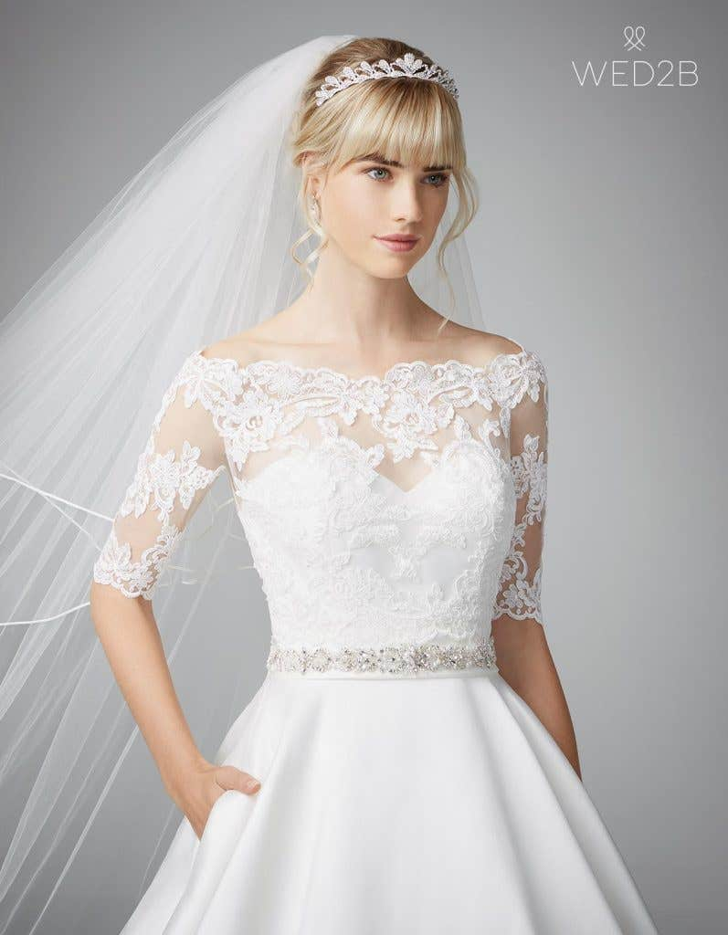Beautiful ball gown wedding dresses - Delancey