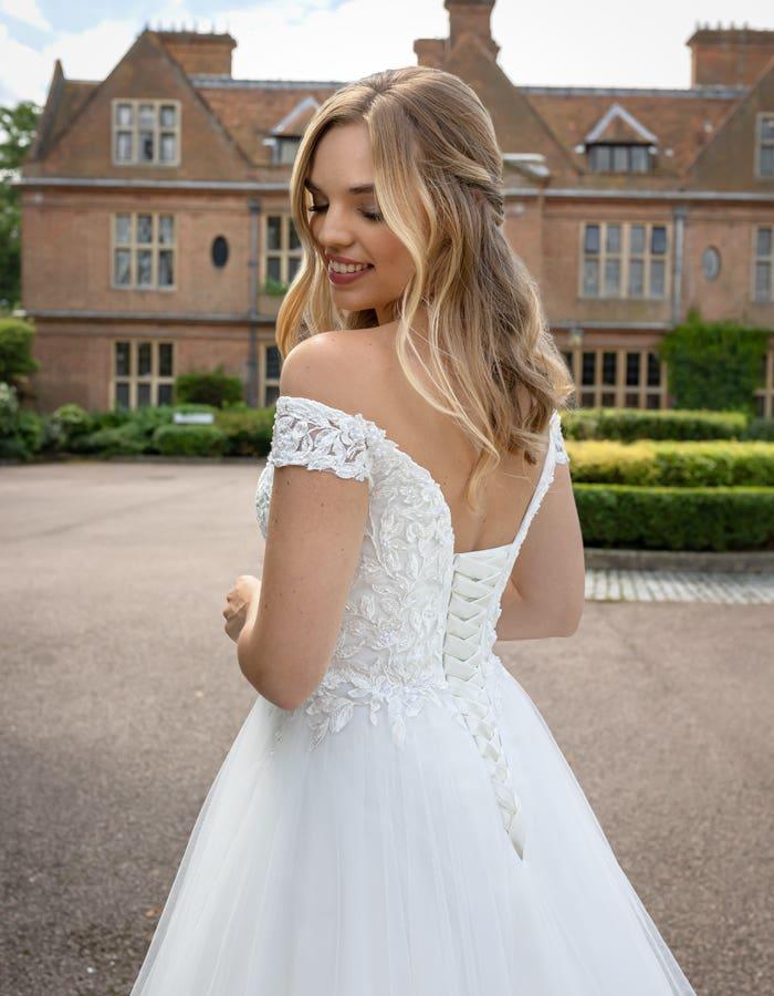 Violette a classic wedding dress by Viva Bride