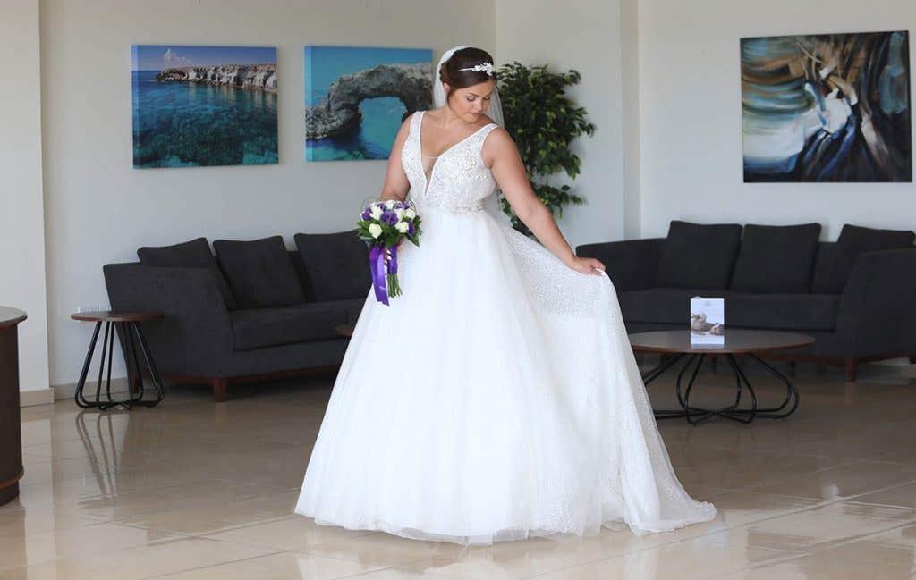 Real Weddings Cyprus: Danielle And John's Beautiful