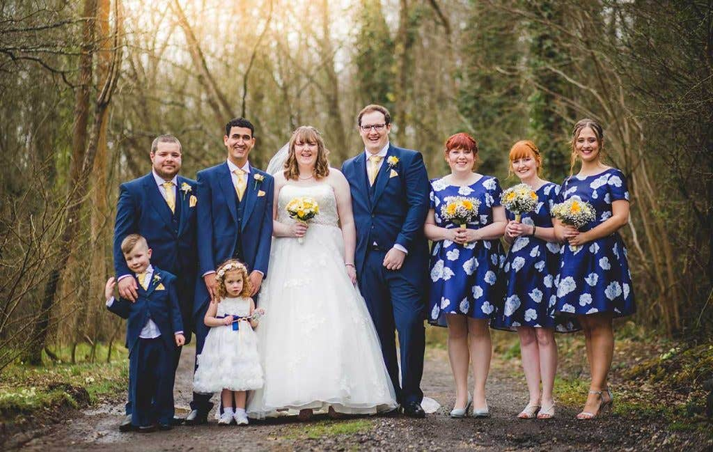 Real Wedding Winchester: Joanne and James's fun-filled wedding day