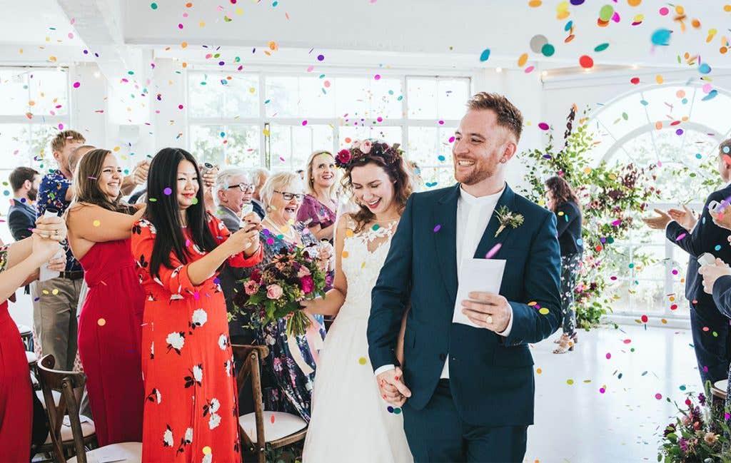 Real Weddings Surbiton: Georgina And Toby's Contemporary