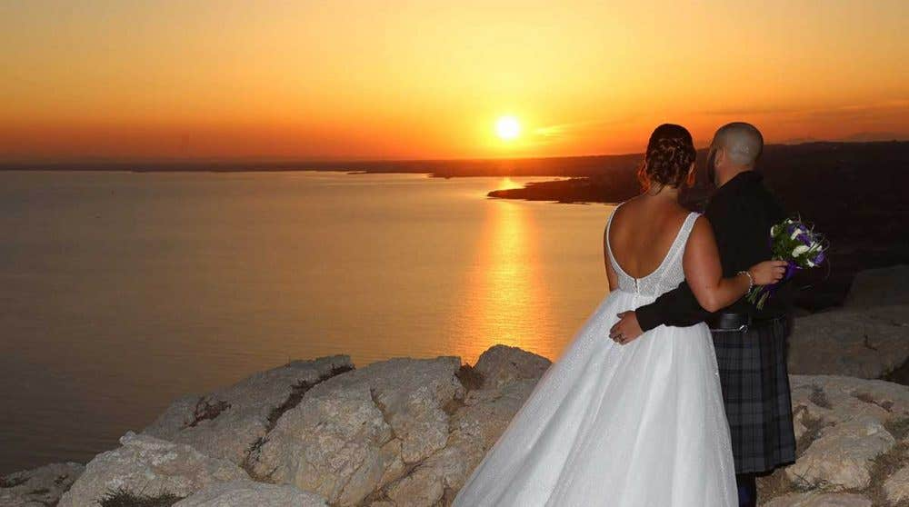Real Weddings Cyprus: Danielle and John's beautiful wedding abroad
