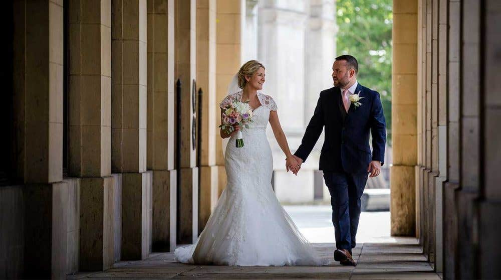 Real Weddings Bolton: Neil and Maureen's perfect Manchester wedding