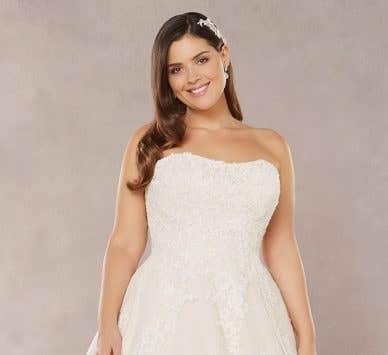 Brand new plus size wedding dresses…