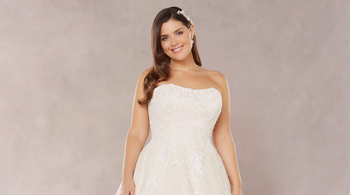 3b17f100f7840 Brand new plus size wedding dresses… | WED2B UK BLOG