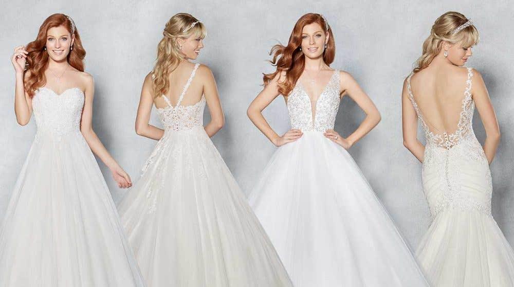 Four fabulously romantic wedding dresses from Viva Bride