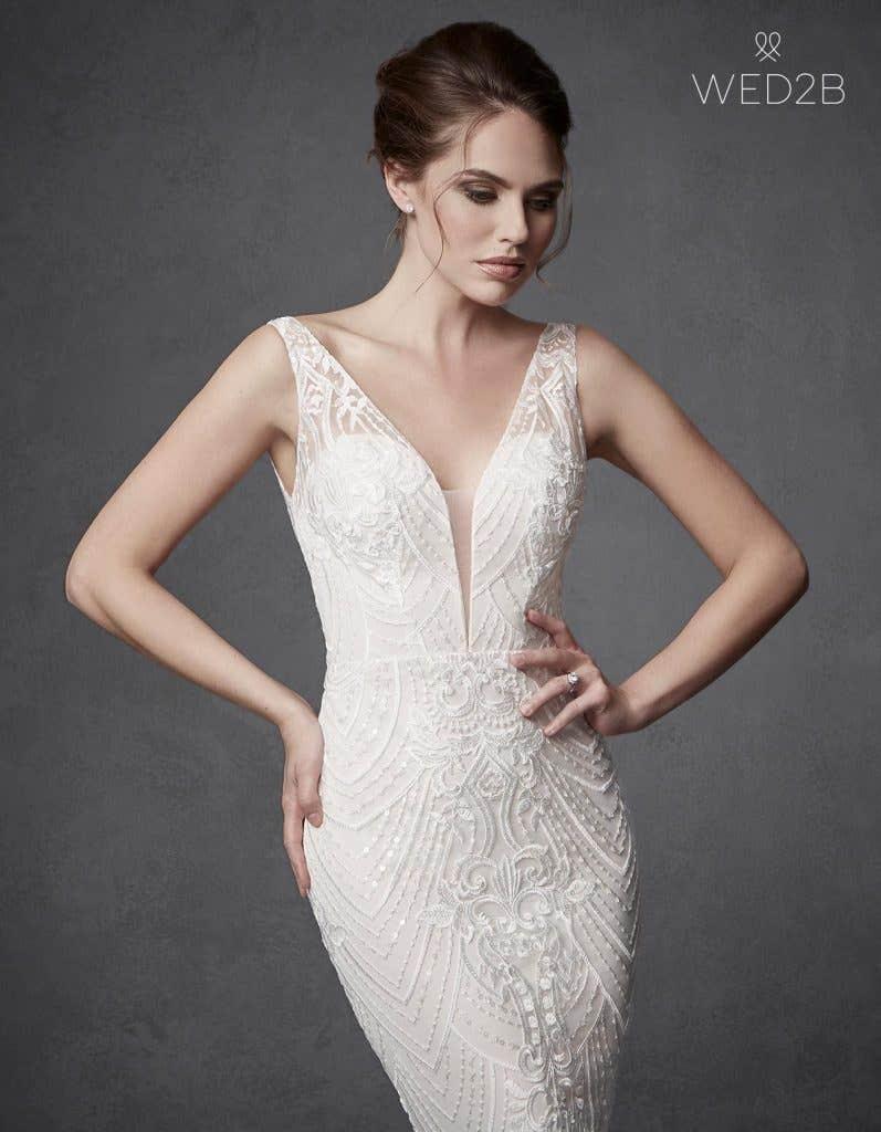 Find your dream illusion back wedding dress… - Bali