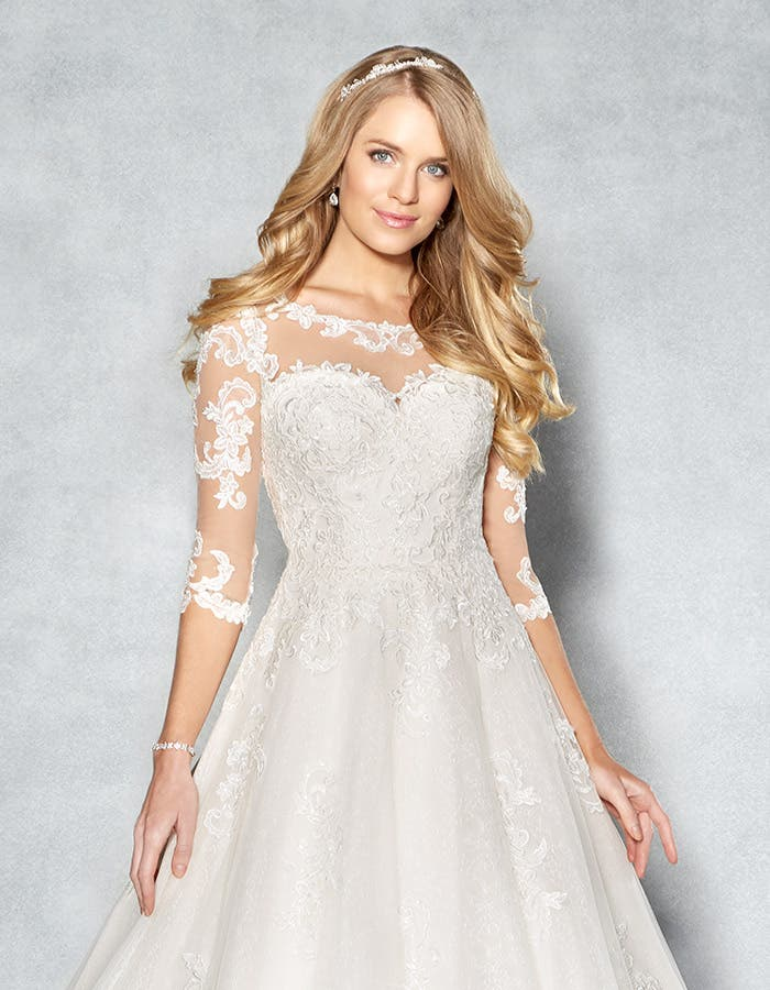 Coloured wedding dresses with wow factor - Breanna